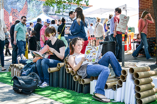 Bookworm Mini Parklet